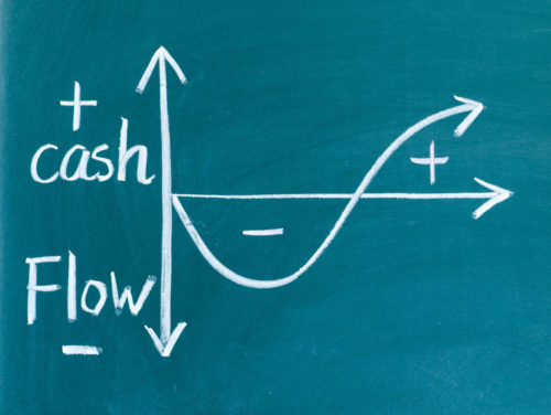 Graph with cash flow algebra