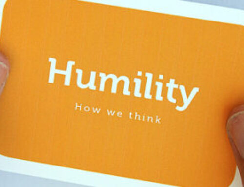 Becoming A Better Leader – Humility